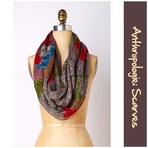 """Anthro """"Winding Rose Infinity Scarf"""" by Far Away"""